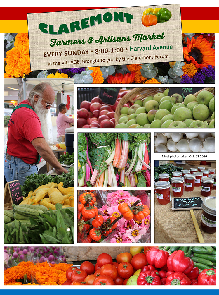 Claremont CA Farmers Market photo