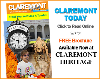 Claremont Today website and brochure